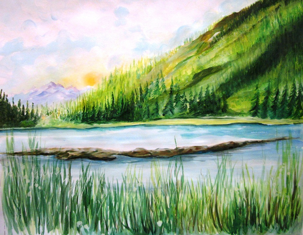 Watercolor Paintings 4