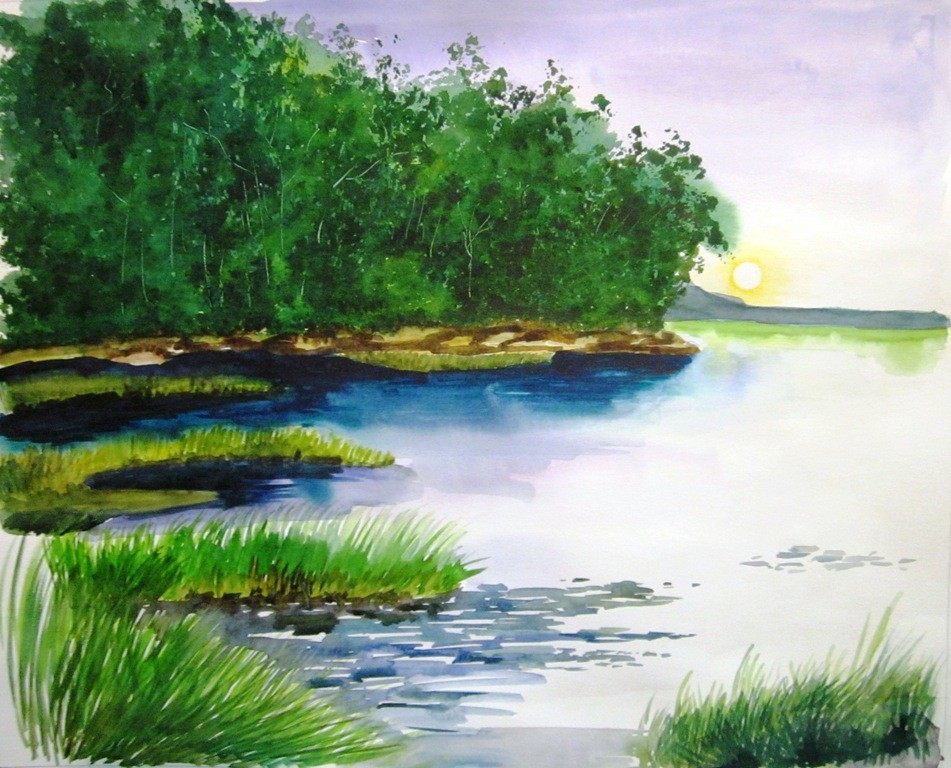 Watercolor Paintings 8