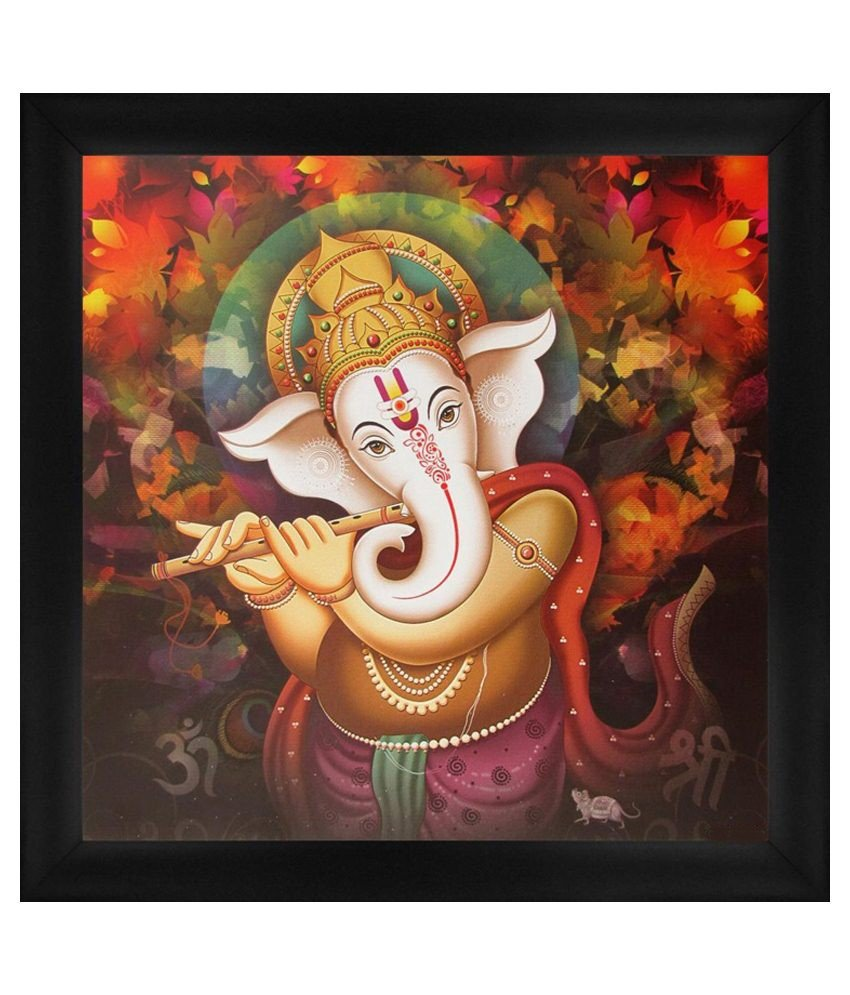 Buy ganesha oil paintings | ganesha canvas paintings ...