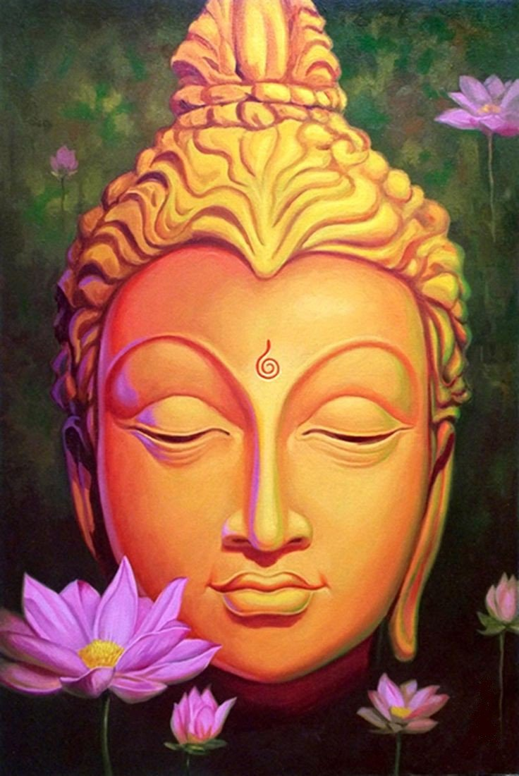 Buddha Paintings for sale, Lord Buddha Paintings on Canvas online India